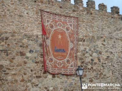 Senderismo Sierra Norte Madrid - Belén Viviente de Buitrago; senderismo en huelva